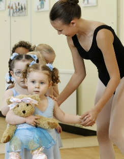 Melody Movement preschool ballet classes