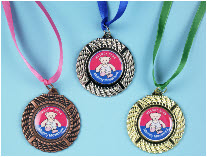 Melody Bear's medal awards