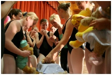 Photo of Pudsey Bear and Melody Bear making ill bears well
