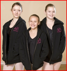 Photo of girls wearing Jill Bridger hoodies
