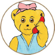 Melody Bear answering your telephone call