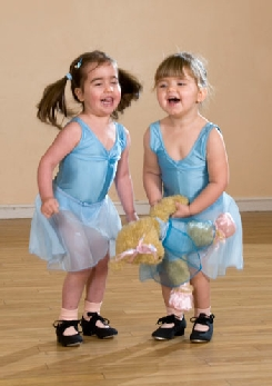 Photos of tap dancing toddlers