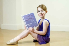 Photo of dancer with Junior Ballet award file