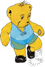 Graphic of Melody Bear tap dancing