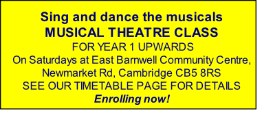 Sing and dance the musicals
