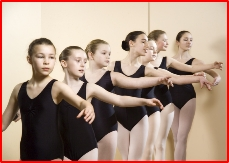 Senior Royal Academy of Dance students