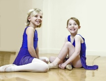 Photo of two Jill Bridger Junior Ballet dancers