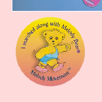 Graphic of Melody Bear Marching Sticker