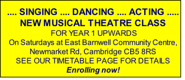 .... SINGING .... DANCING .... ACTING .....